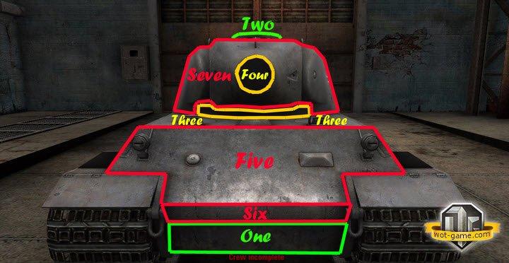 Lowe (Лев) в World of Tanks.
