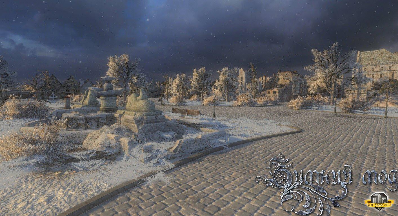 Зимний мод v3 0 для world of tanks 0 8 10