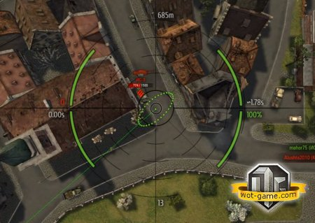 Прицелы как у Муразора от Jimb0 для World of Tanks 0.9.2