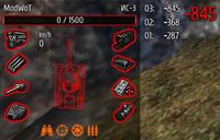 Панель повреждений, икони модулей и пожара для WOT 0.8.7