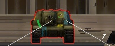 Мод - прицел с пробитием для World of Tanks 0.8.7