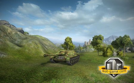 Противотанковая САУ СУ-122-44 в World of Tanks