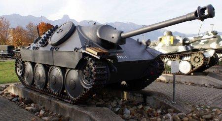 Противотанковая САУ Hetzer в World of Tank