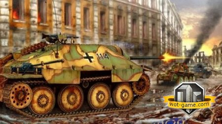 ��������������� ��� Hetzer � World of Tank
