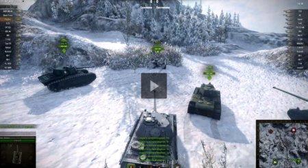 Интересная позиция на карте «Северогорск» в World of Tanks