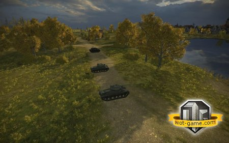 Мод - Lighting для World of Tanks 0.8.7