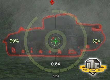 Прицел OverCross World of Tanks 0.9.2