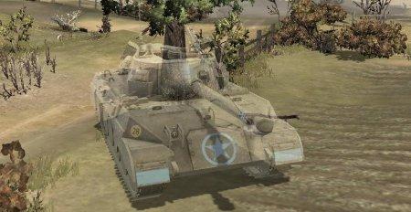 Маскировка танка M18