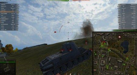 Мод - направление орудия врагов World of Tanks 0.9.1