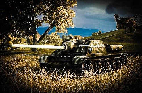 ПТ-САУ СУ-85 или каратель в игре World Of Tanks