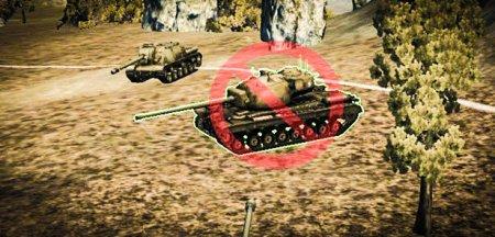Отключение стрельбы по трупам и союзникам World of Tanks