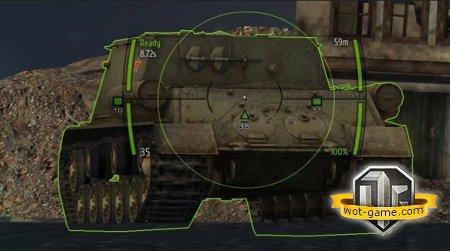 Прицел как у 40 тонн World of Tanks 0.9.2