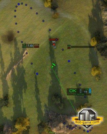 Лучший прицел для арты World of Tanks 0.8.11