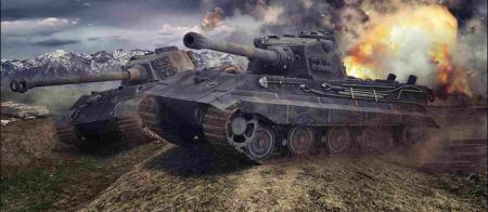 Tiger II - Немецкий Царь зверей.
