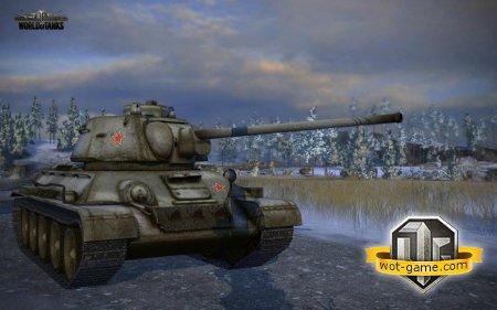 ����� ������ ������� �� �-34 � World of Tanks?
