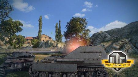 Гайд по немецкой ПТ САУ Jagdpanther II