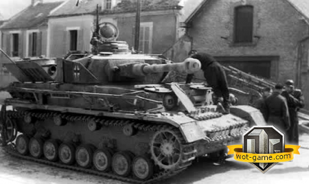 ��������� � Pz.Kpfw.IV � World of Tanks