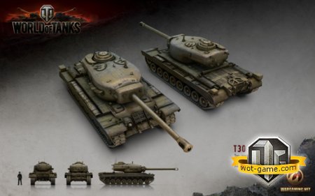 ���������� � �30 � world of Tanks