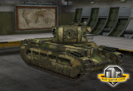 "Знакомство с ""Матильда IV"" в World of Tanks"