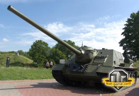 """Советская самоходная-артиллерийская установка """"СУ-100"""""""