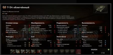 Новый премиумный танк - Т-54