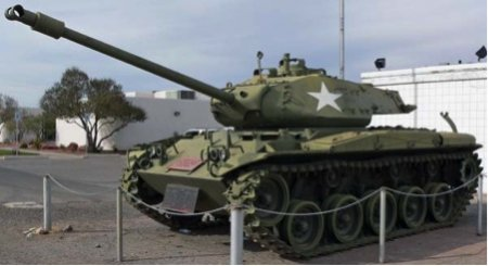 ����� ������������ ���� M41 WALKER BULLDOG