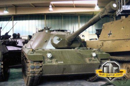 Новый немецкий танк RU 251 Prototype