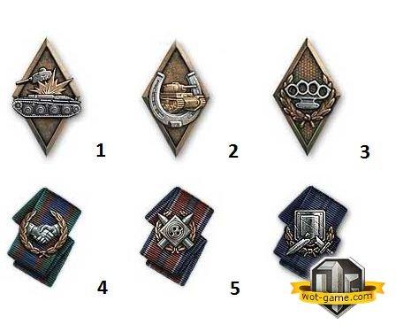 Новые медали в патче 0.9.3