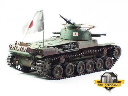 Японский мини нагибатель Type 97 Chi-Ha
