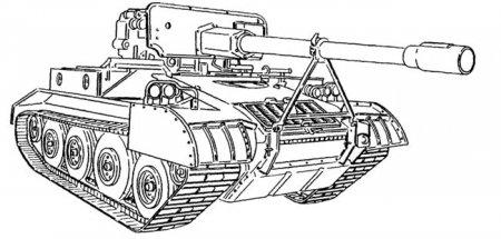 Будущий премиум танк США ПТ-САУ M56 Scorpion