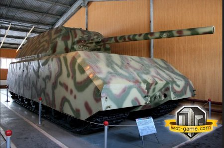 Сверхтяжёлый танк Panzerkampfwagen VIII «Maus»