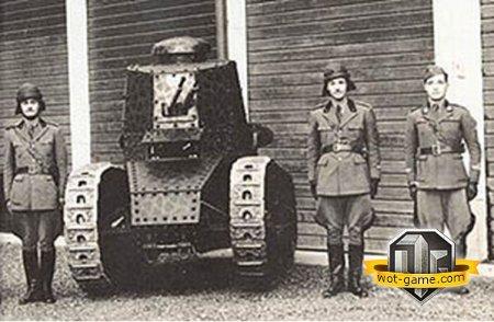 World of Tanks: Renault FT-17. �� ������ ����