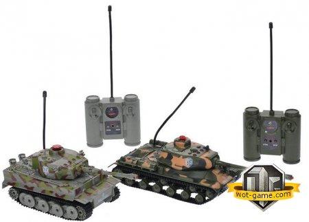 Специальная трансляция: выиграй радиоуправляемые танки!