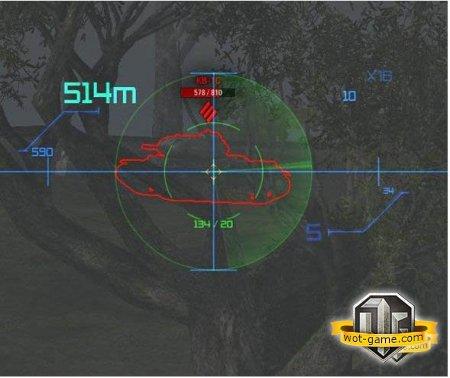 Как установить прицел в World of Tanks?