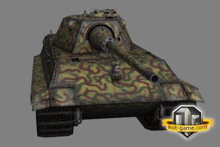 Обзор среднего немецкого танка 9 уровня E50