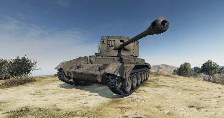 Новая британская ПТ-САУ Challenger