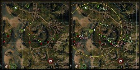 Используем миникарту с умом в World of Tanks