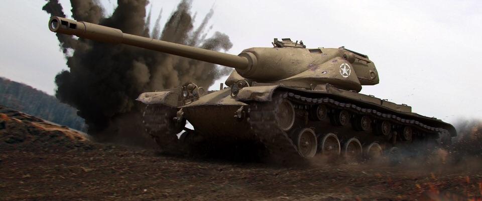 Обои на рабочий стол игры:world of tanks, wot, мир танков, т110е5.
