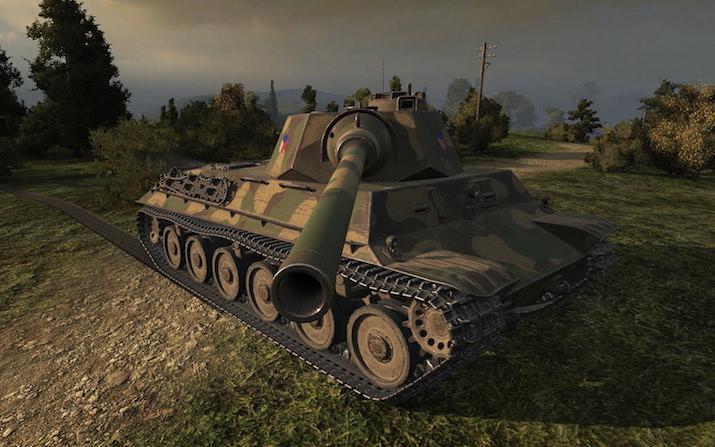 Тактика игры на Skoda T40
