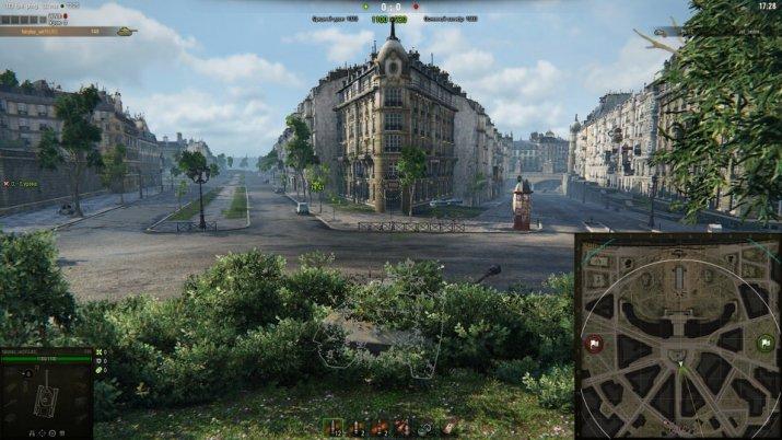 Обзор новой карты «Париж» в World of Tanks: как на ней играть?