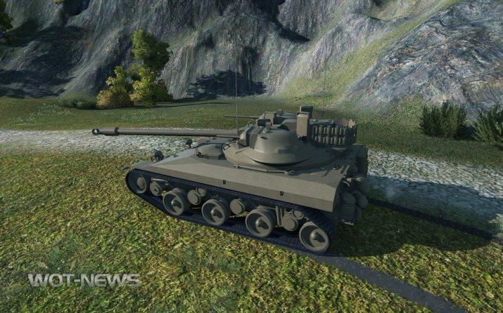 Первый взгляд на новый легкий танк T92 LT