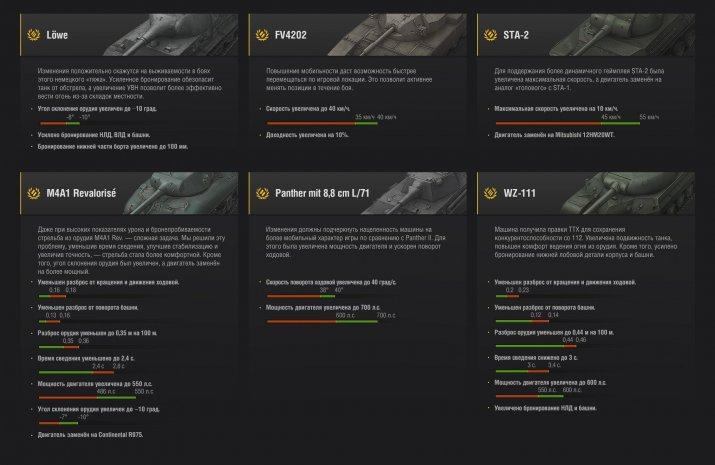 АП премиум танков в обновлении WOT 9.17