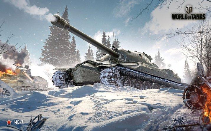 Обзор тяжёлого Советского танка ИС-7