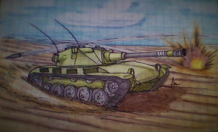 Новые ТТХ AMX ELC bis (Ёлки) в World of Tanks
