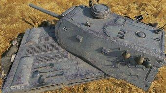 Новый прем танк VK 168.01 (P) в патче 9.20