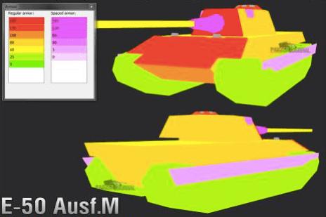 Обзор среднего немецкого танка 10 уровня E 50 Ausf. M