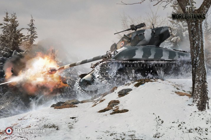M4A1 Revalorisé – французкая мощь в World of Tanks