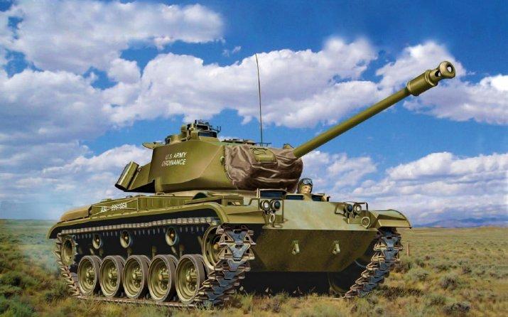 M41 Walker Bulldog: Понерфленный в игре WOT