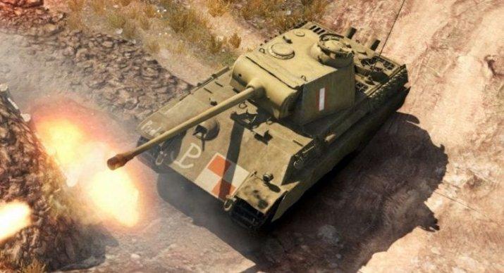 Польский средний танк 6 уровня «Пудель» Pudel