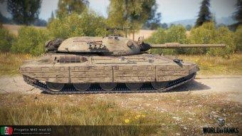 PROGETTO M40 MOD 65 – средний танк Италии WOT